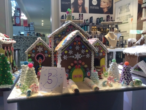 An entry in the 2015 Town of Huntington Gingerbread House Competition.   Long Islander News Photo/archives