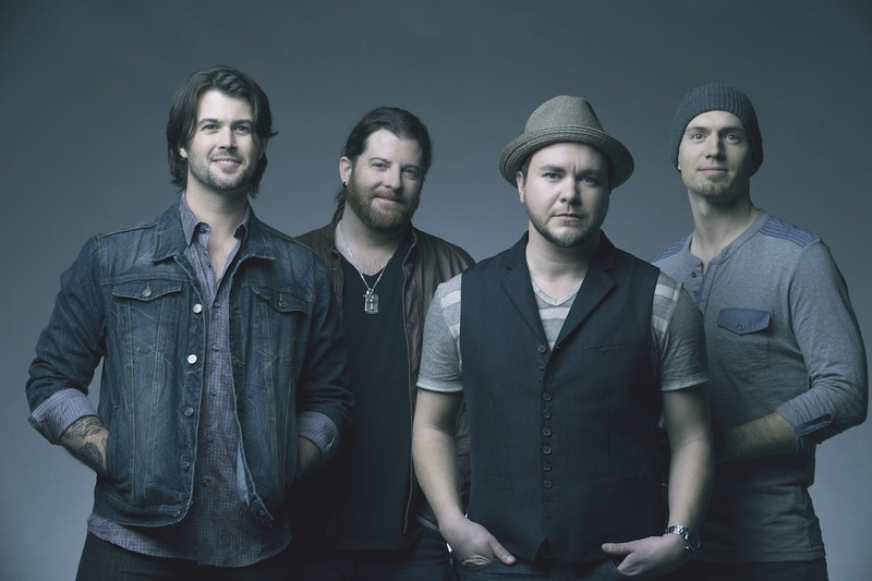 The members of Eli Young Band, from left, drummer Chris Thompson, guitarist James Young, lead singer Mike Eli and bassist Jon Jones will leave their 'Fingerprints' on Huntington on Nov. 7.