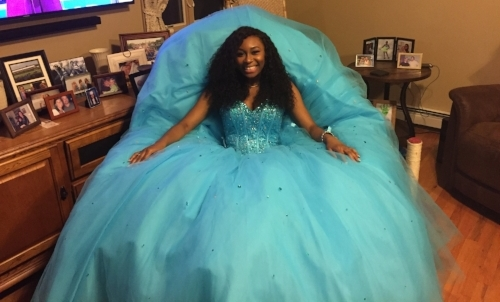 Jasmine Taylor, of Huntington Station, is currently preparing to compete for New York State in the 2017 Miss Teen Competition on Nov. 5.   Photo by Angelique Springfield