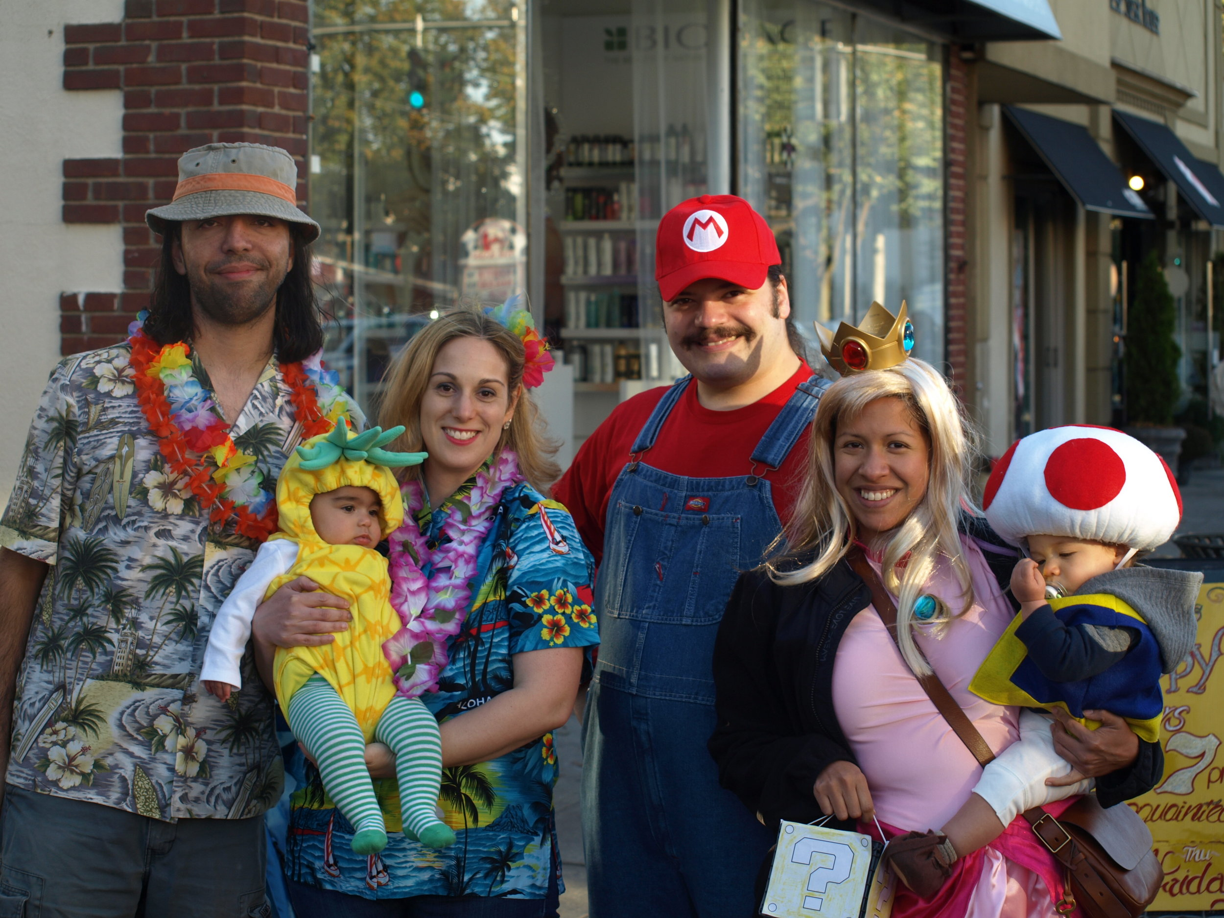 Wall Street and others across Huntington village were packed on Tuesday for the Town's annual Children's Halloween Costume Parade.  Long Islander News Photo/Connor Beach
