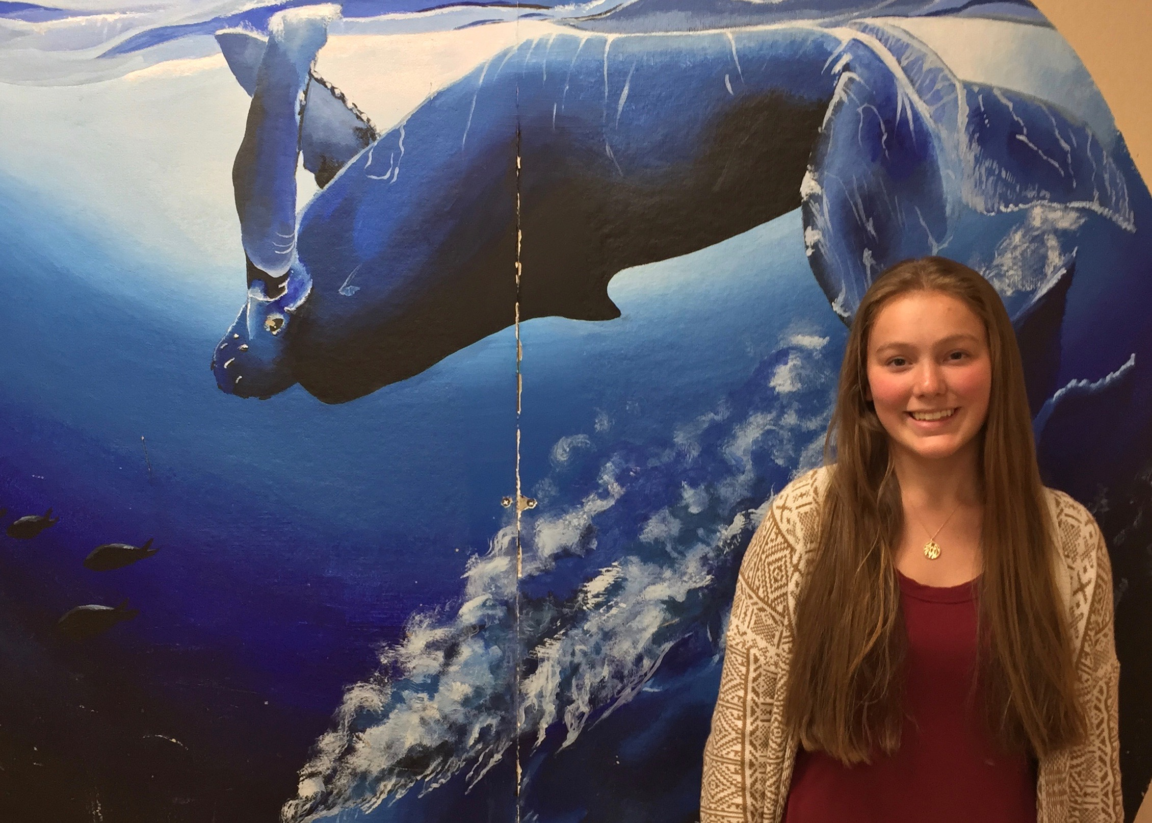 Northport High School junior Katie Sierra was announced as a Siemens semifinalist.   Photo Courtesy of Northport-East Northport School District