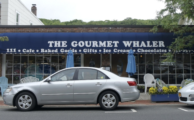 The Gourmet Whaler offers up salads, burgers, sandwiches, and more, making it a great lunch spot for shoppers in Cold Spring Harbor.   Long Islander News Photo/Archives