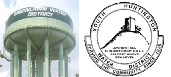 The Greenlawn and South Huntington water districts will see contested Water Commissioner elections as voters head to the polls on Tuesday, Dec. 12.