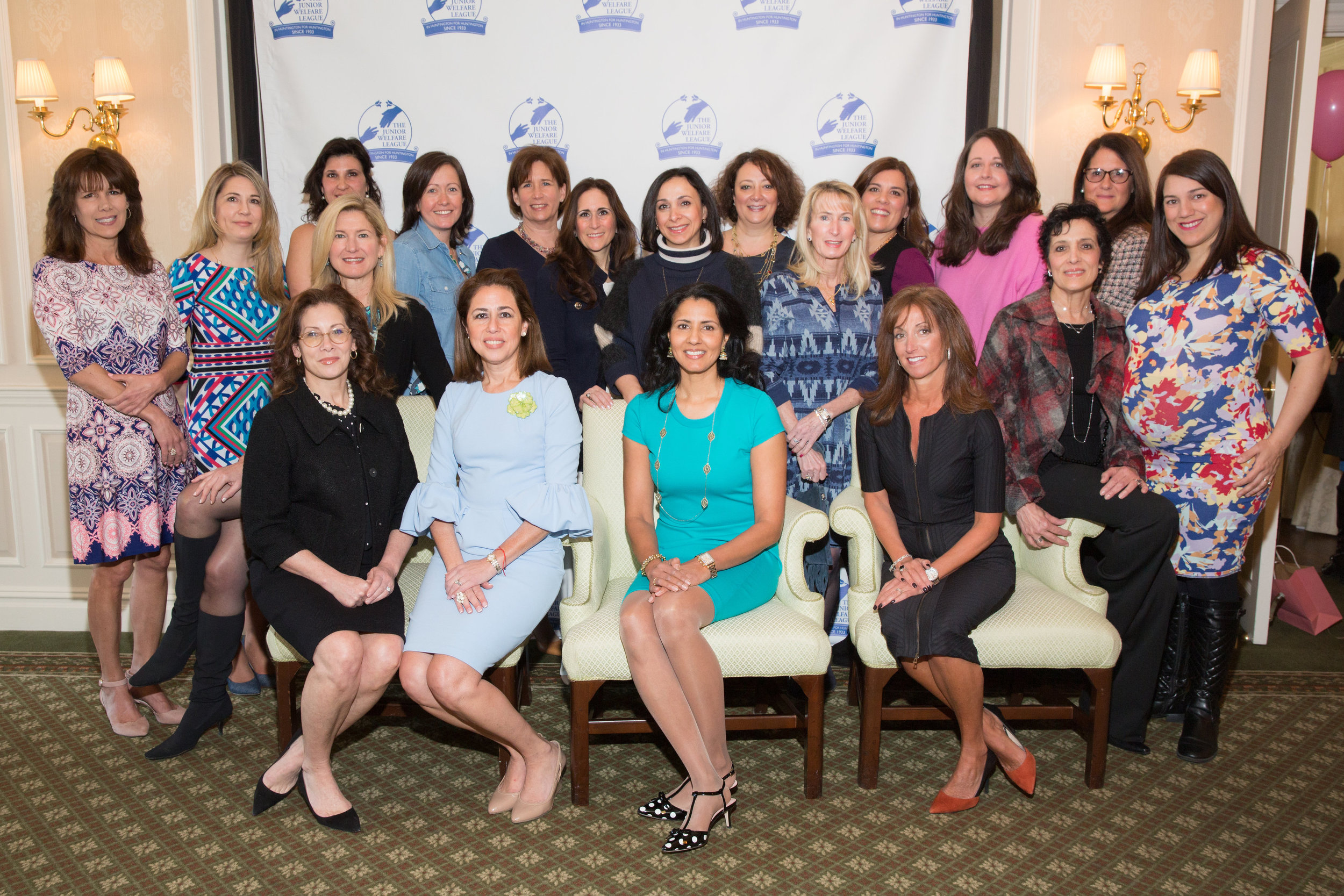 Over 150 women gathered at the Huntington Country Club on March 18 for the Junior Welfare League's annual Spring Luncheon.   Photos/Jennifer Vacca for Zoot Shoot Photographers