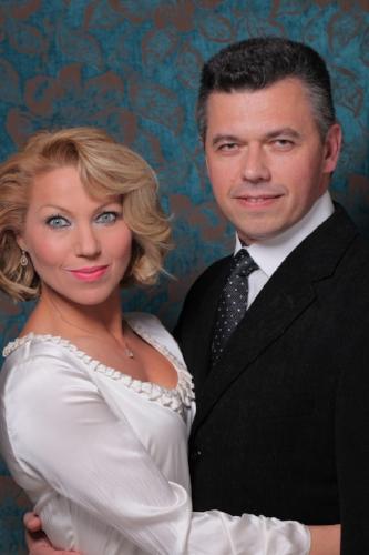 Olga and Sasha Bylim