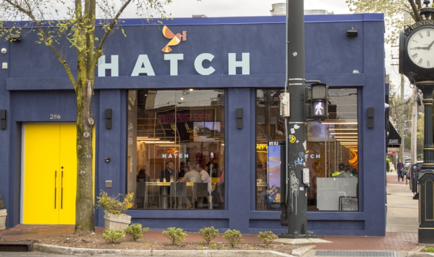 Hatch is located at 286 Main St., Huntington village.