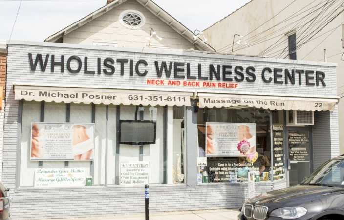 The Wholistic Wellness Center at 22 Wall St. in Huntington village has been serving the local community for over 20 years.