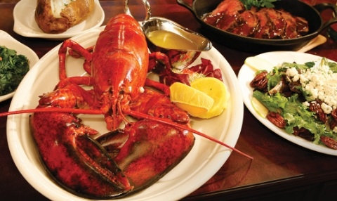 Blackstone offers up a surf and turf special on Sundays.