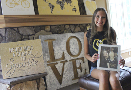 Jordan Belous founded her charity Whip Pediatric Cancer when she was 16 years old, and is still raising funds while in college.    Long Islander News   archive photo