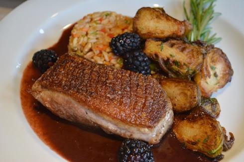Long Island Duck Breast is on the menu at Jonathan's Ristorante during DineHuntington Restaurant Week.