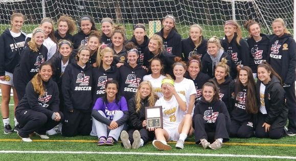 St,. Anthony's girls soccer team is undefeated so far this season, and nationally ranked by  Top Drawer Soccer.