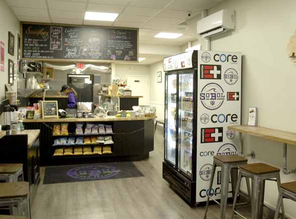SoBol's Huntington Village location is the sixth franchise opened by Huntington resident Paul Gucciardo and his partners. The growing chain's acai bowls are a popular health-conscious alternative to fast food.