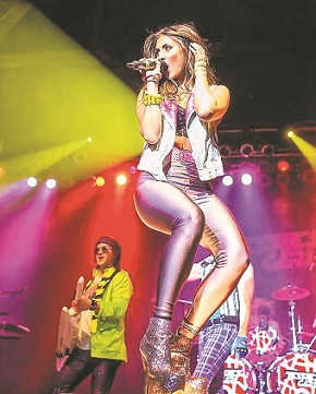 Lead singer Jenna O'Gara will perform '80s hits with Jessie's Girl this New Year's Eve at The Paramount in Huntington.