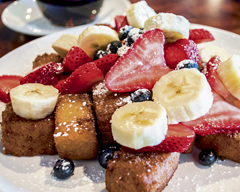 From the breakfast menu at  Brownstones  (361 Larkfield Rd., East Northport), the French Toast Bites ($9.99) is one of the most popular and playful dishes. The French toast squares are topped with fresh berries, bananas, strawberries and powdered sugar. The bites are cooked to a perfect golden brown, and have a sweetness that pairs well with the fresh fruit. A healthy dose of syrup is the perfect addition to tie this dish together.