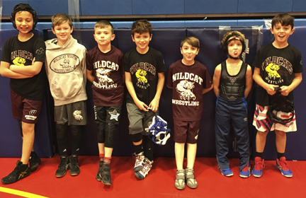 Young wrestlers learn to love the sport in the Wildcat Youth Wrestling program.