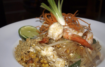 Pad Thai with Mixed Seafood ($20.95).