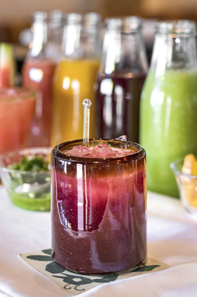 If you  have  to celebrate National Margarita Day on Feb. 22, Besito's Margarita Tamarindo with passion fruit tamarind puree is a great way to do it.