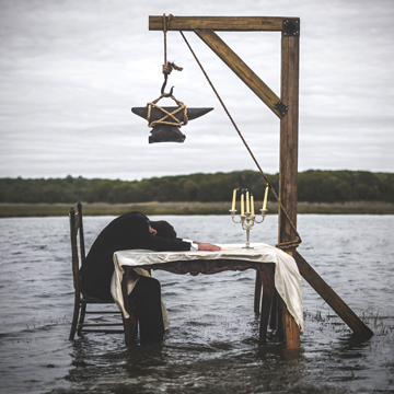 Bruno's imagery often requires building elaborate props.  Photo/Nicolas Bruno