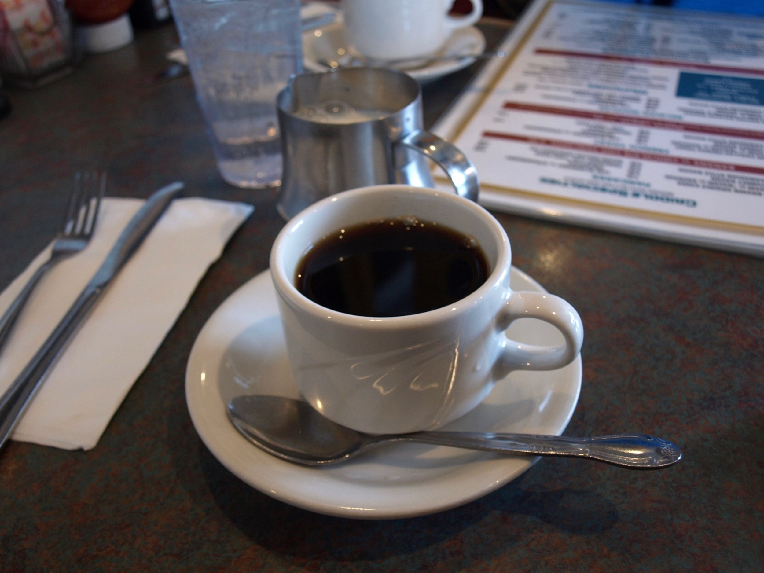 Who doesn't have time for coffee and conversation at Sweet Hollow Diner?