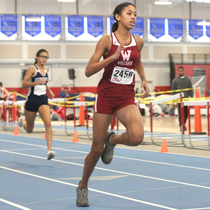 Walt Whitman freshmen Gianna Paul's 400m finish of 57.45 seconds qualified her for the national championships.