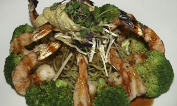 Shrimp and Soba