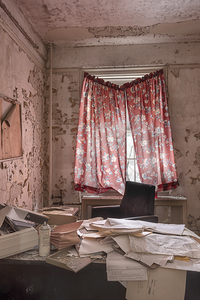 "Photographer Paul Mele captures the abandoned in his exhibit, ""In Absentia,"" on display at fotofoto gallery.  Photos/Paul Mele"