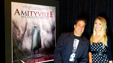 "Directors and actors Chuck and Karolina Morrongiello bring the legends of Mount Misery Road to life in the new horror film ""Amityville: Mt. Misery Road,"" set for nationwide release on May 7."