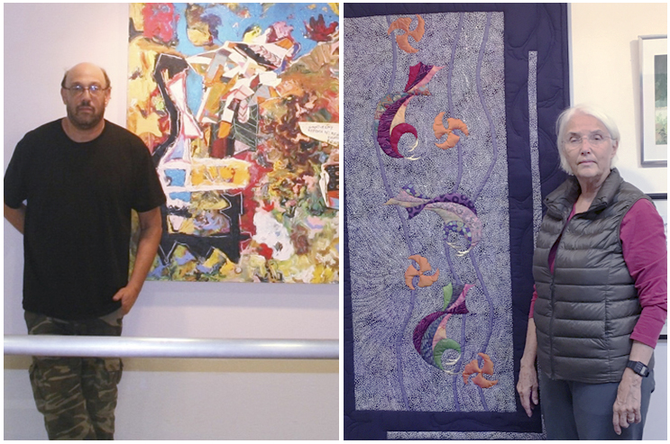 Abstract Artists Share Gallery Show Long Islander News