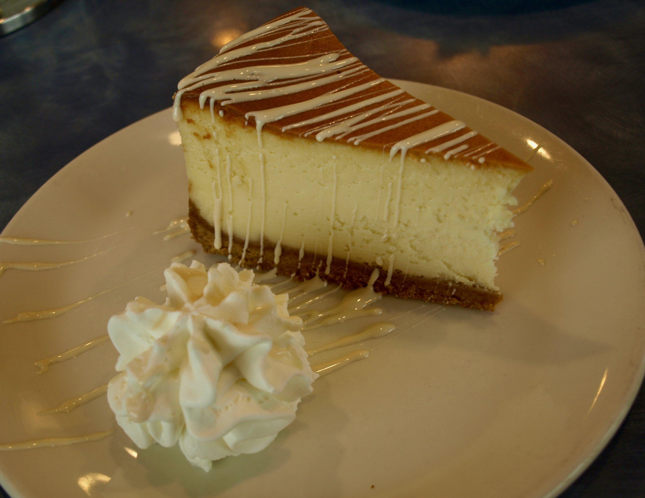 Mmmm…  cheesecake.