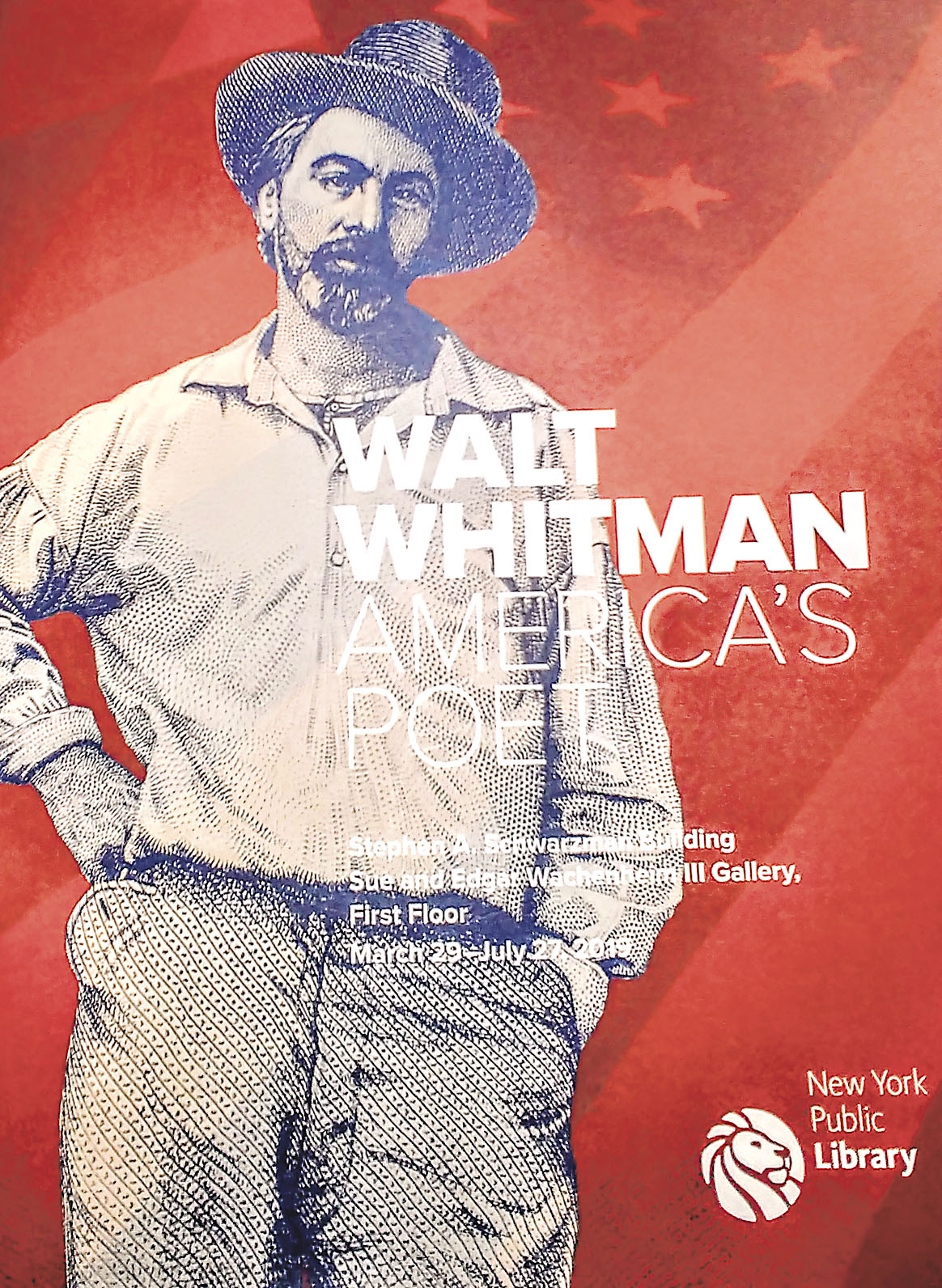 New York Public Library joined the celebration of Walt Whitman's 200th birthday with an exhibit devoted to the Huntington Station-born poet.