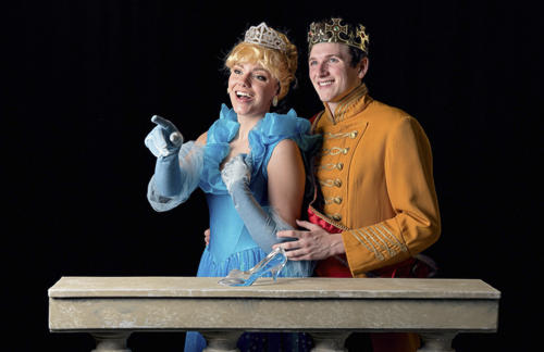 "Family night opens the Summer Arts Festival when Plaza Theatrical Productions performs ""Cinderella""."