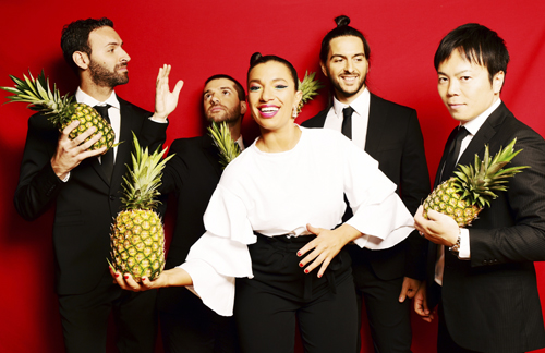 Banda Magda brings Pineapples and Laughter to the Heckscher stage June 28.  Photo by Shervin Lainez