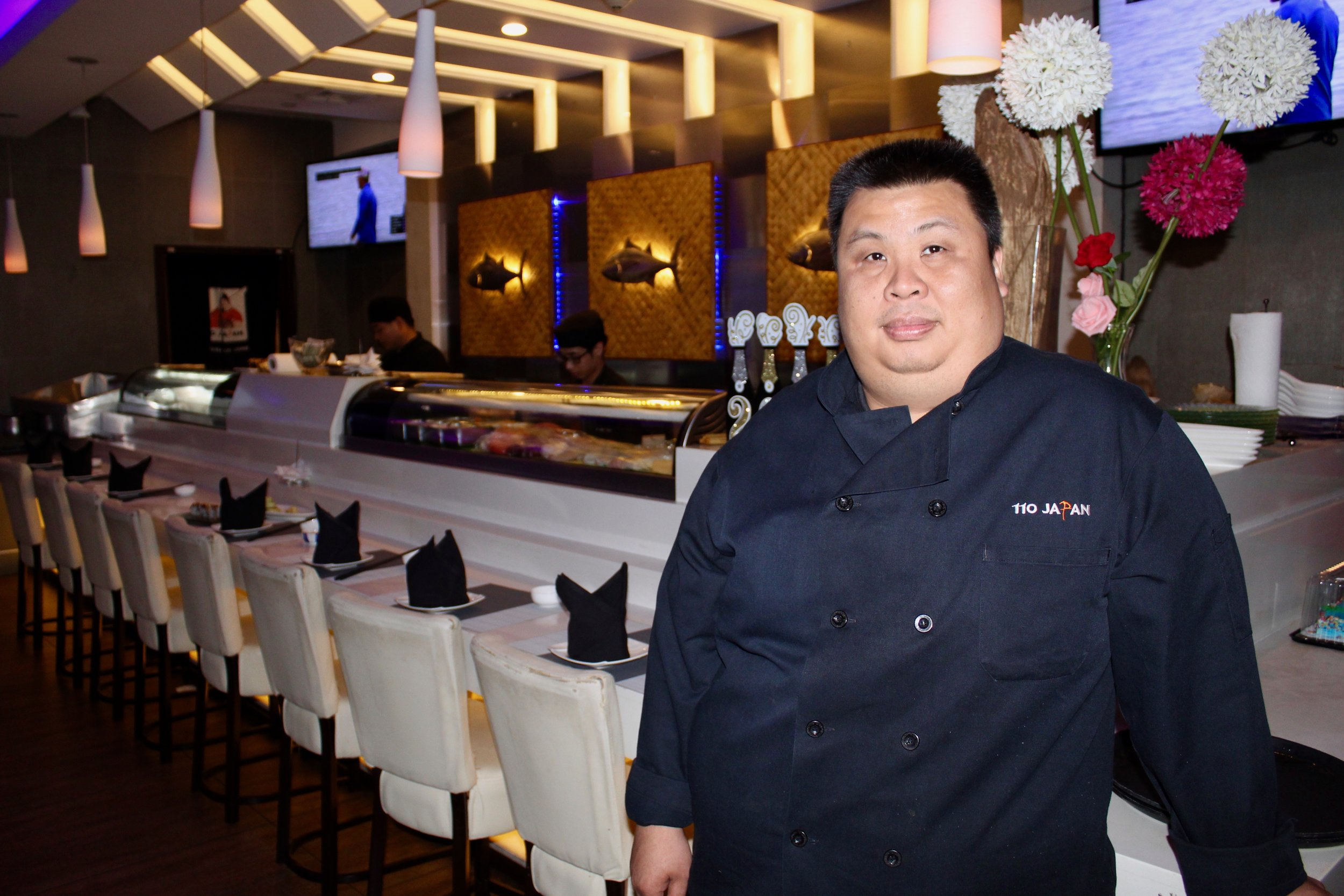 Chef Chee Meng So's fusion dishes pull from his time spent in Malaysia, Japan and Singapore.
