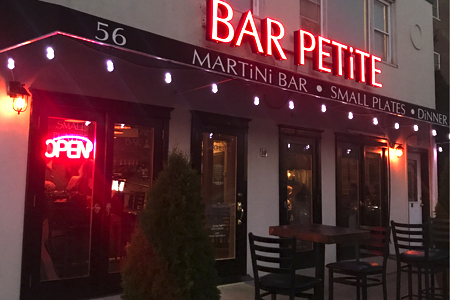 Bar Petite is small in size but big in flavor.