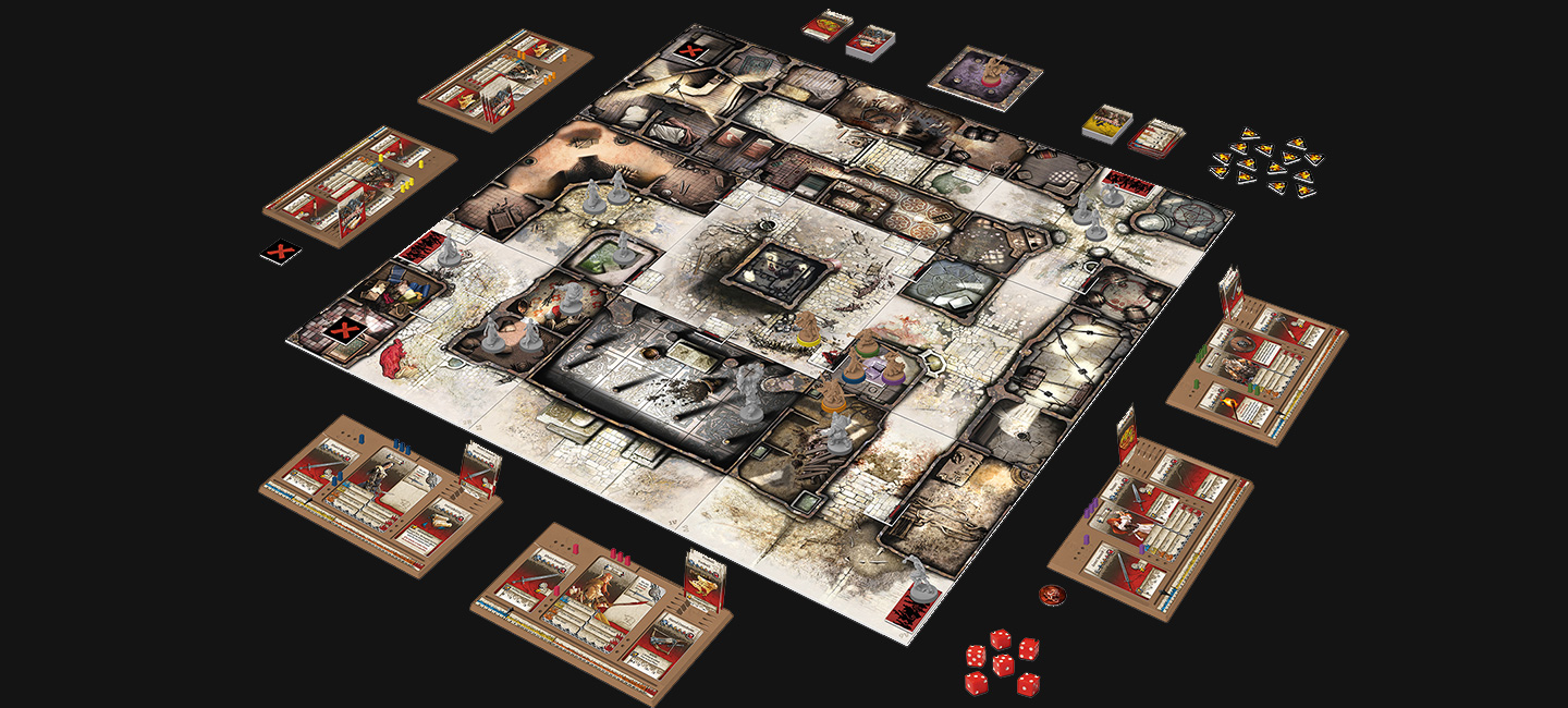 The ultimate zombie board game, reinvented in a medieval fantasy setting!