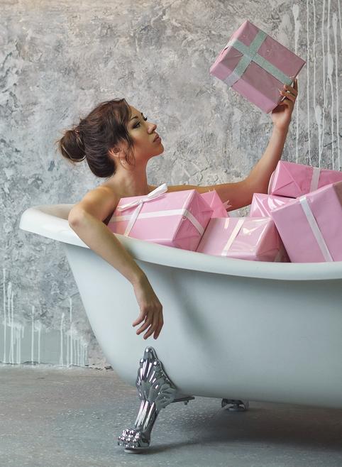 morning energy bath