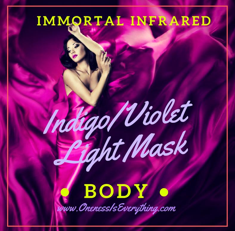 indigo Violet Light Mask