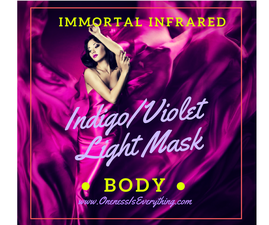 Immortal Infrared Indigo Violet Light Mask