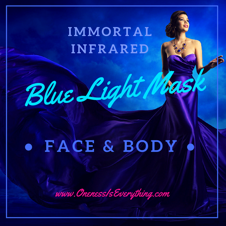 The Immortal Infrared Blue Light Face & Body Mask