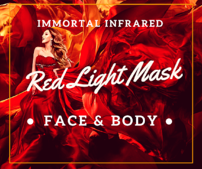 Immortal Infrared Red Light Face & Body Mask