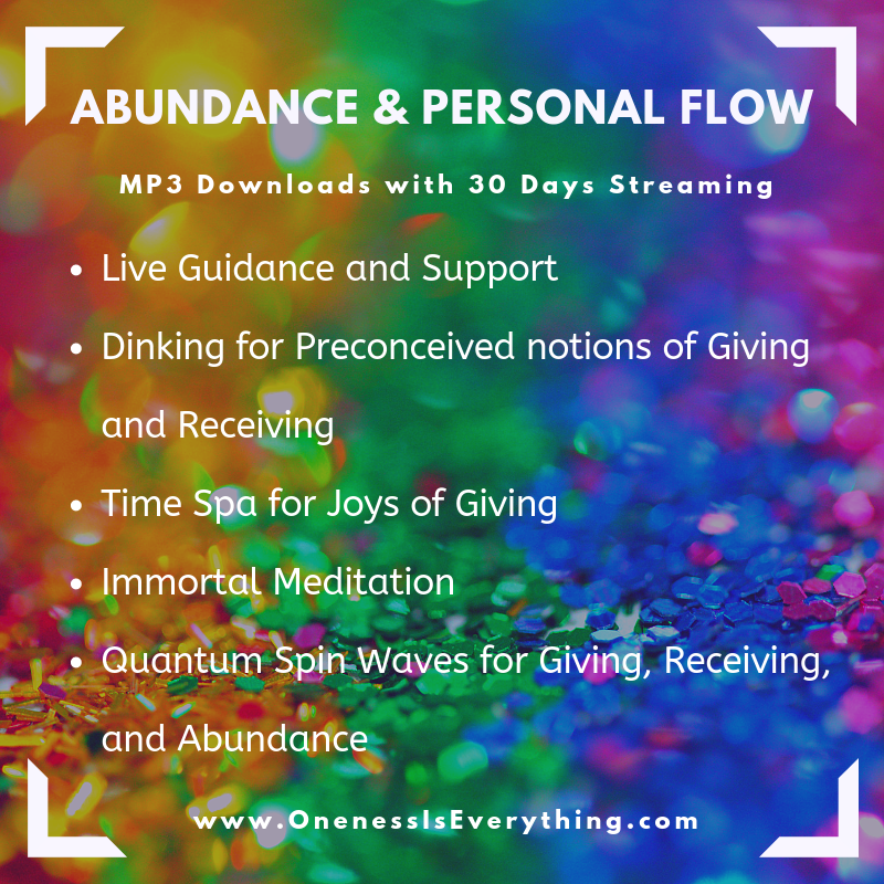 Abundance and Personal Flow 1