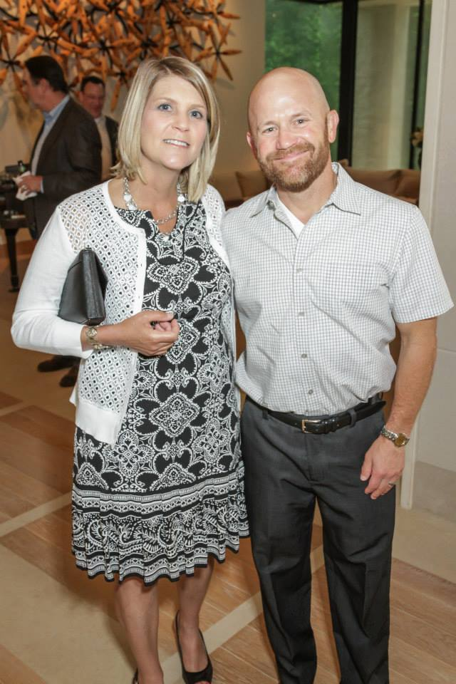 Tricia and Brent Brasseux