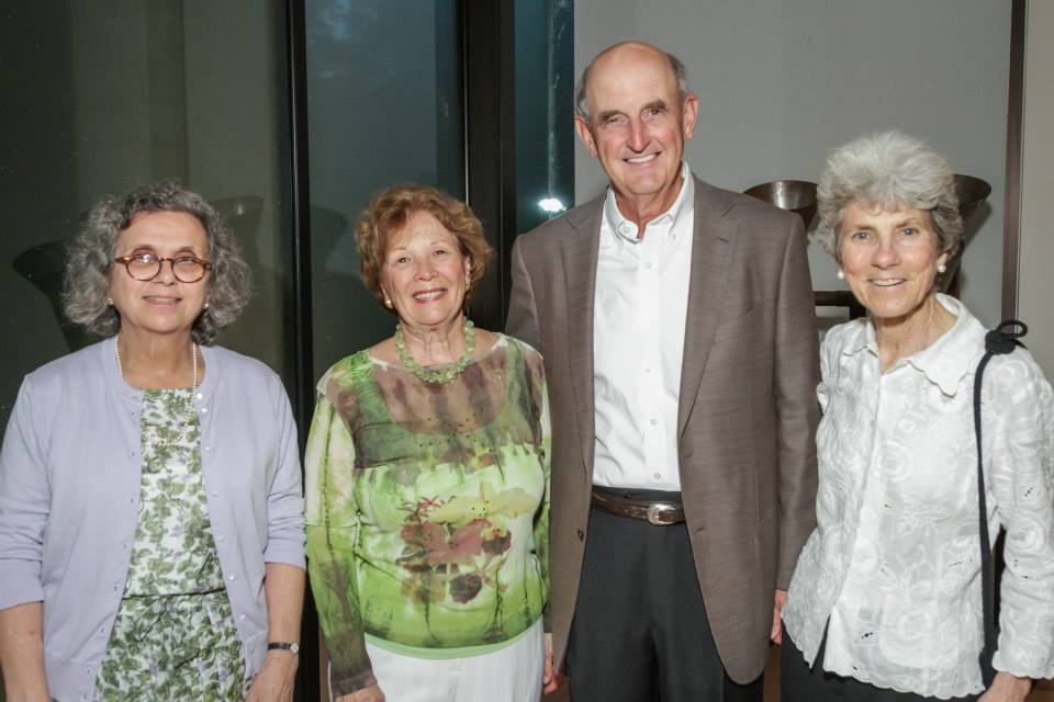 Mary Anne Piacentini, Mary Gwen and Ben Hulsey, Wendy Kelsey