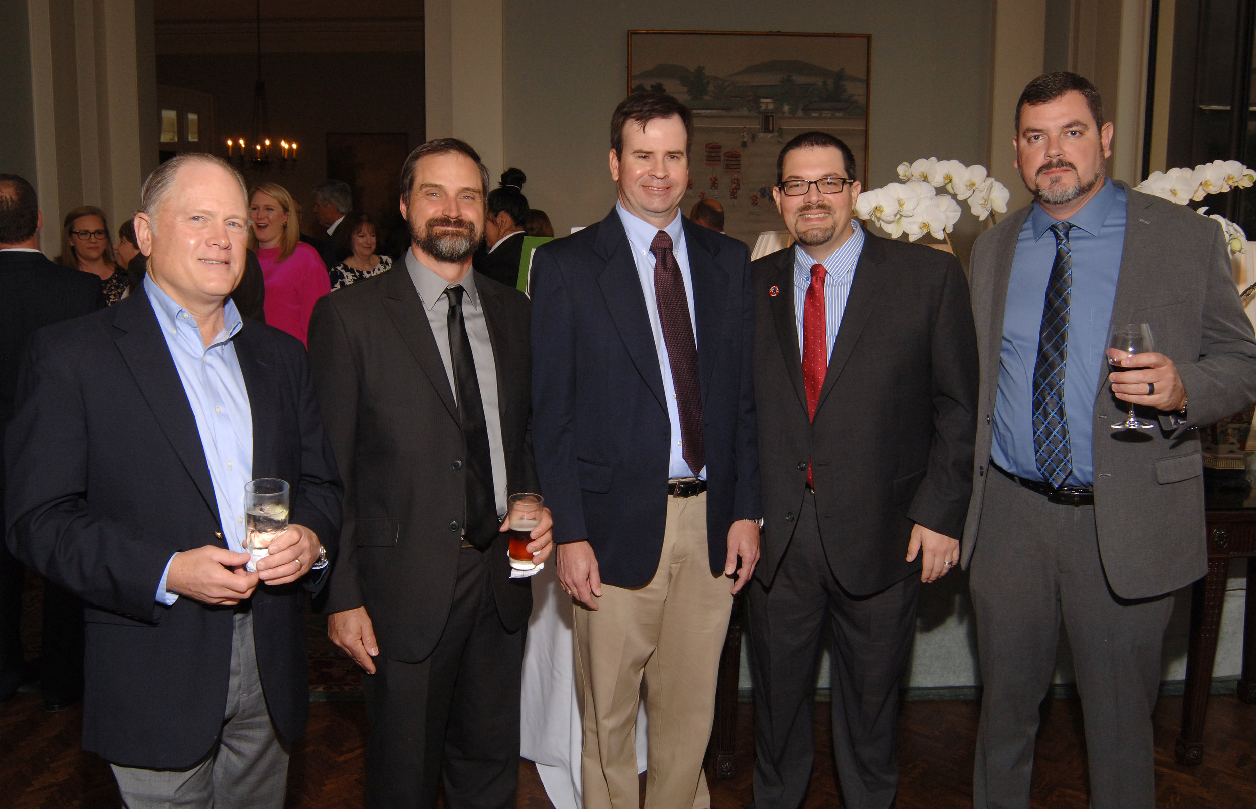 KPCGala_Eric Paulsen, Matt Stahman, Jeff Wellman, Chris Harris, Michael Crow_Tom DuBrock photo.JPG