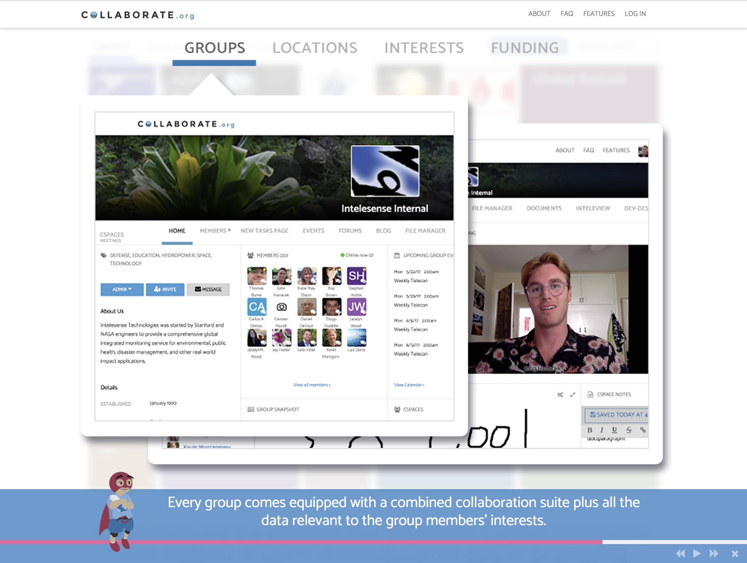 Cspaces concept and group structure lead conceptual designer.