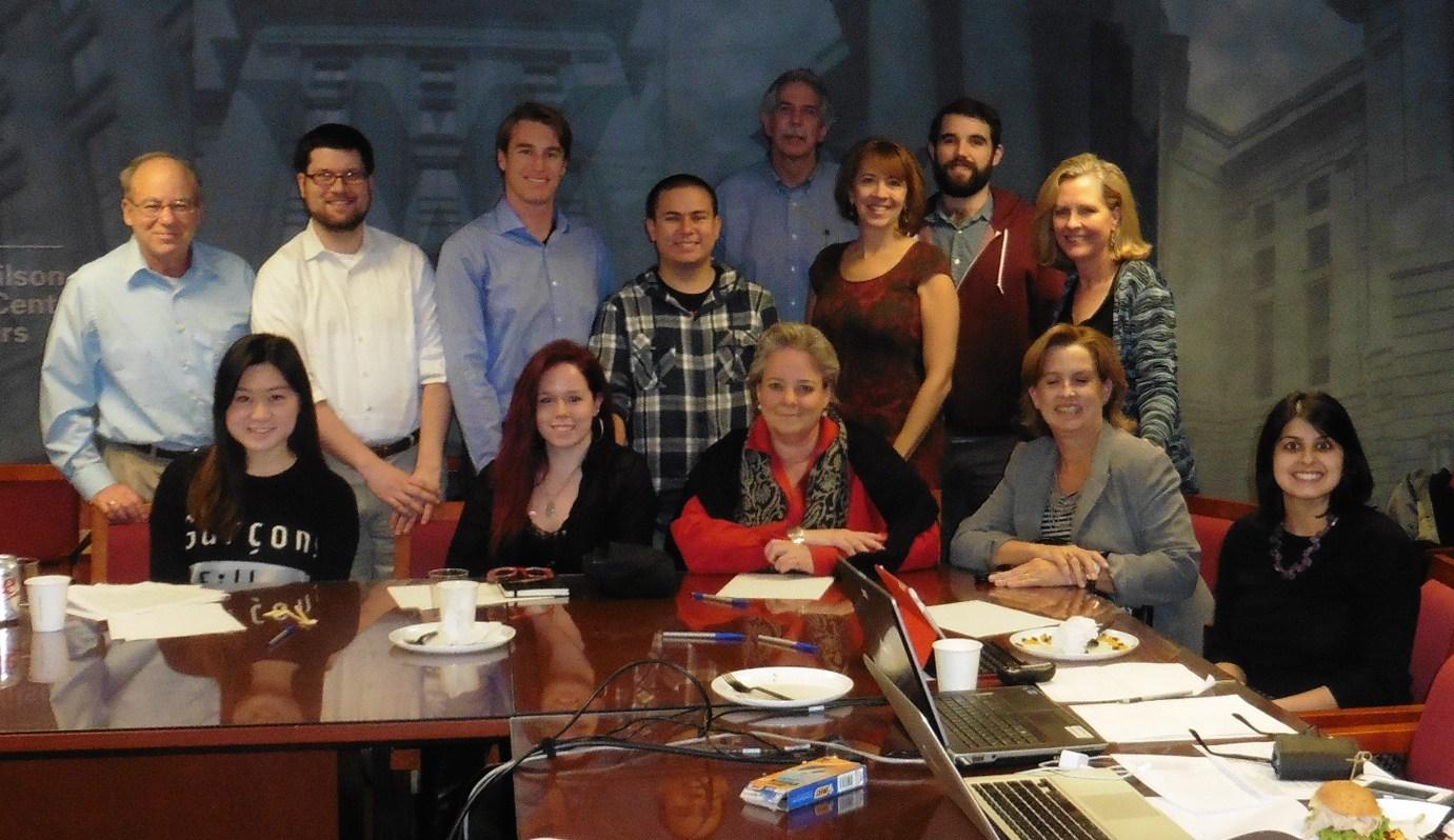 Global Co Lab Wisdom Bridge Session at Wilson Center in Washington, DC