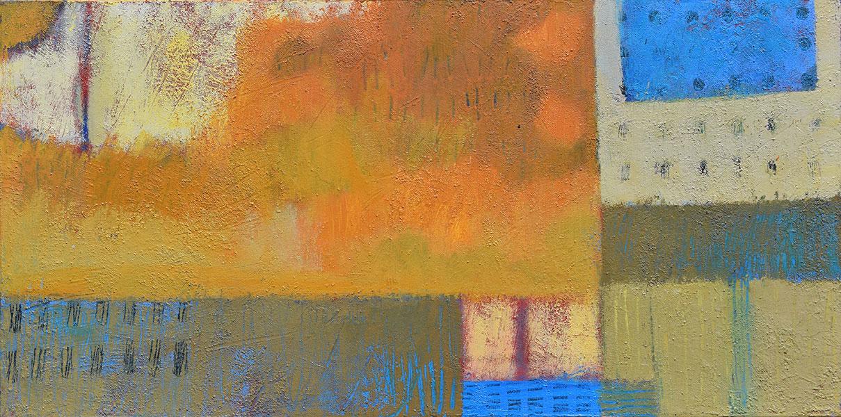 Sunny Day 1. Acrylic on Canvas. 15x30