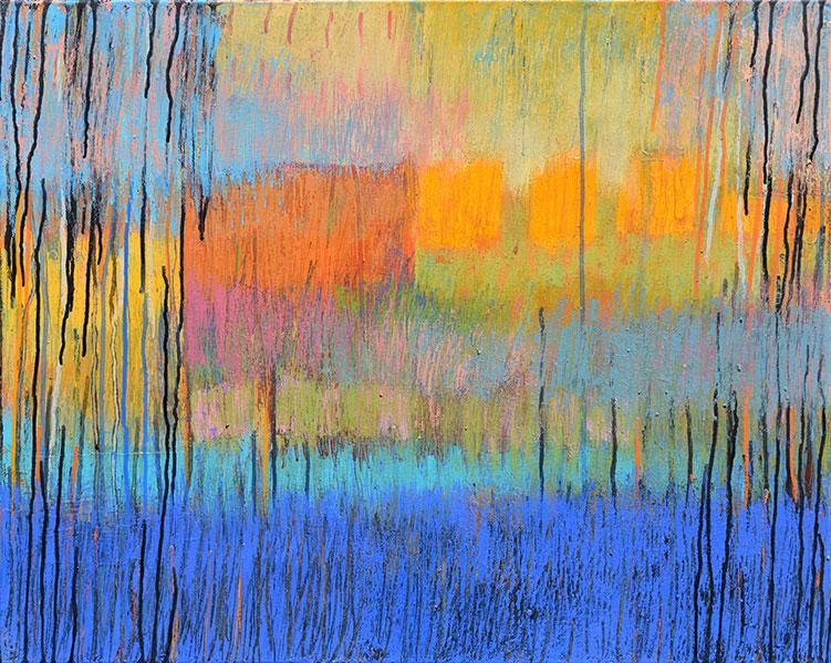 Reflections 4. Acrylic on Canvas. 24x30