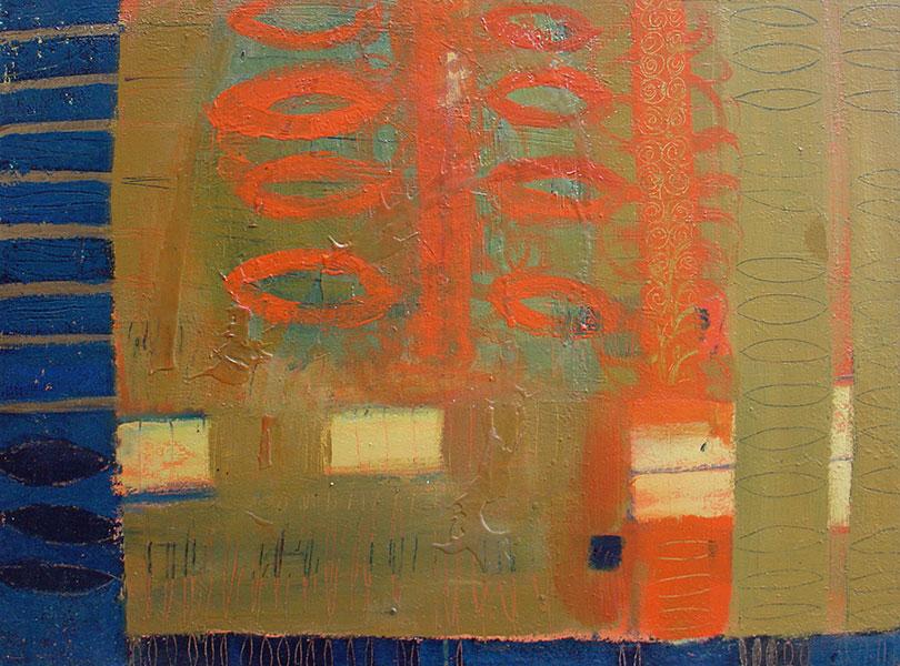 Tree. Mixed Media on Canvas. 30x40