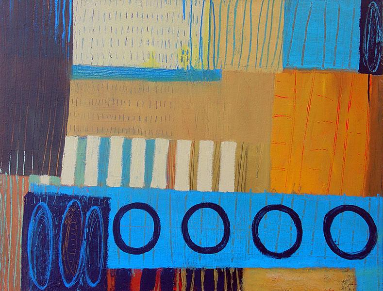 Harvest. Acrylic on Canvas. 30x40